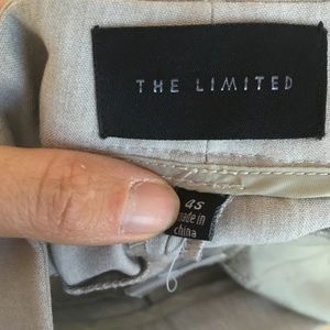 The Limited Pants - THE LIMITED GREY TROUSERS DREW FIT 4S